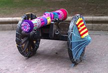 Yarn bombs / Inspiring yarn art in public places