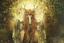 Celtic Legends & Arthurian stewpot / Visions of Avalon, Camelot & beyond.