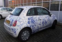 Whimsical Delft / Unusual items in delft