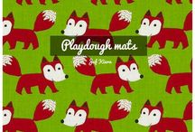 Playdough mats / by Juf Kiara🌺