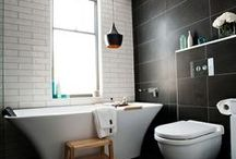 Subway tiles / The many different looks you can achieve by using the classic subway tile...