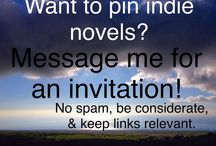 Novels by Indie Authors / Novels written by Independent Authors! Please allow at least 20 pins between repeat pins. Thank you!  Fiction, independent, indie, author, writer, novelist, novel