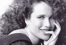 Andie MacDoWell / by Raquel Melo