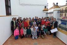 2014-Encuentro con María Hesse. / Encuentro de la ilustradora María Hesse con alumnos/as de C.E.I.P. Juan de Mesa. Noviembre de 2014.
