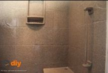 DIY-Showers.com / A collection of beautiful shower ideas, tips, tricks, and all things diy for the dedicated homeowner.