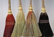 Brooms and besoms / Ceremonial, ritual, decorative, and functional brooms.