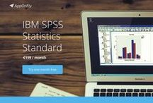 Statistical Softwares in cloud / Admirers of statistical analysis all over the world may finally enjoy working with favourite statistical softwares through online cloud access.