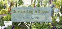 Gardening & Decor / What better to enhance the beauty of your garden than by adding whimsical accessories and decor to show off your personal style!