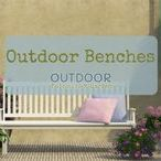 Outdoor Benches / Outdoor benches not only add style, but also comfort to your garden, front entry, back yard or pool area. No matter where or how you use outdoor benches they will add character to your home!