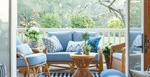 terace & porch / It is so nice to have a place to relax and to get together with people you love. Make it comfortable.