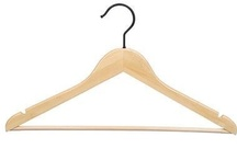 B*green Bamboo Clothing Hangers / We searched for an eco friendly hanger for five years.  Then we thought, why not bamboo?  Many copycats followed our lead, but you can always identify ours because we do not use chrome hooks.  Look for our signature black hooks and you'll know you are getting the greenest bamboo hanger made.