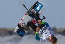 Kite Surfing  - Pro kite surfer Alberto Rondina