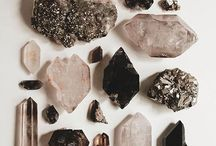 Stones and minerals