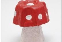 craft din cofraj de oua/egg carton craft ideas for kids / diferite craft-uri din cofraj de oua