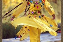 ~I ♡ People / Traditional clothing/ people from different countries