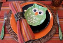 WHOO'S IN MY KITCHEN? / I have a fall/ retro owl theme with mustard yellow walls in my kitchen so I either own or want these things :) / by Kat Matthews
