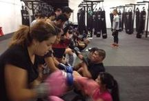 BoxFit / Boxer Mark Posadas takes you through a rigorous but fun boxing and conditioning class that includes mitt work, conditioning, bag work, and authentic boxing drills. Always fun and always a workout!