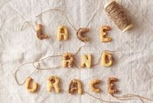Lace & Grace / Everything that is beautiful about #lace gracefully incorporated into #food.