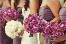 Dark Purple/Plum & Gray Wedding