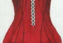 haft krzyżykowy / hafty