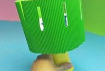 Manualidades para niños / Las mejores manualidades para niños. Manualidades sencillas y divertidas con materiales de reciclaje, originales y creativas.