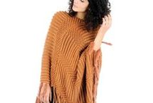 Style Edıt:Wrap Up Warm Wıth a Poncho / Take our ponchos for size and see how you can style it.