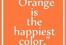 Orange...