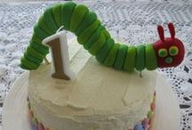 The Very Hungry Caterpillar Cakes / The Very Hungry Caterpillar Cakes and Simple tutorials