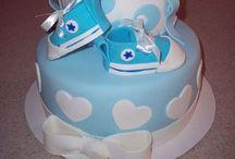 Baby Boy Shower Cakes