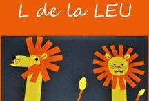 Litera L / Letter L / Invatam literele alfabetului. Litera L