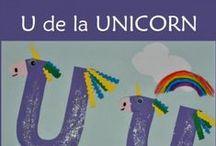 Litera U / Letter U / Invatam literele alfabetului. Litera U