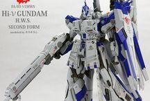 Gundam - MG Hi-nu GUNDAM