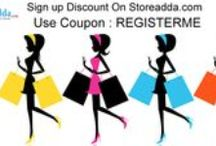 OFFERS , DISCOUNT COUPONS ON CLOTHING - storeadda.com / Discount Coupons on Clothing, Daily Deals, Weekly Deals, Festival Offers, Coupon Codes, offers on ethnic wear,