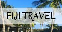 Fiji Travel / Everything you need to know before travelling throughout Fiji, when in Fiji and everything in between!