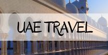 UAE Travel / Everything you need to know before travelling to The UAE, during your time there and everything in between.