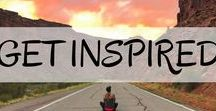 Get Inspired to Travel / Top travel inspiration and motivation to get you travelling. Get ready to live your life to the fullest with no regrets.