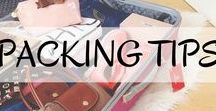 Travel Packing Tips / Ready for your next adventure, but trying to fit too much into your carry-on, or over the check-in weight limit? Stuck on how many pair of jeans and short dresses to bring on your next trip? Here are our top practical travel packing tips to help you figure out what to take, what to leave behind, and our favourite items for every trip!