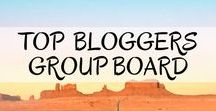 *Top Bloggers Share Their Posts* / Top Bloggers Share Their Posts Group Board. Pinning and Repinning top posts.  To join the group please follow both the board and myself and send me an email through the contact form at: https://luxurybackpacking.net/contact/.  Remember to include your Pinterest handle :) Please only pin vertical pins linking to blog posts. No spam or nudity please!  Happy Pinning <3