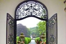 Portes ouvertes sur le jardin / by Danièle