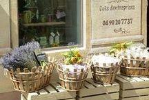 En Provence ... les marchés & les jolies boutiques