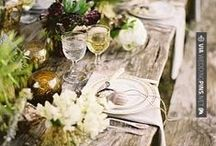 Table Setting - Tablescapes / Tuscan, chic, inspiring...find your perfect table setting! For #wedding and for any kind of #event