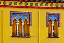 Spain in...Yellow / A Toma Tour of Spain and Andalucia in hues of Yellow... Traditional by tomatours.com/