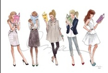 Dessins & Illustrations de Mode / by Danièle