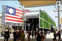 """#Expo2015   USA Pavilion / A simple and cozy barn, where to explore the world of food sustainability: this is the concept of U.S. Pavilion, dedicated to the theme """"American Food 2.0""""   Un granaio dalla struttura leggera e accogliente, dove esplorare il mondo della sostenibilità alimentare: è questo il concept del padiglione USA, dedicato al tema """"American Food 2.0"""""""