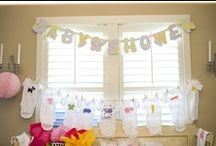 baby shower / ideas para un baby shower