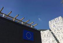 """#Expo2015   EU Pavilion / Developed over three floors with an area of 1,900 m², the pavilion will present the Theme Statement """"Growing Europe's Future Together for a Better World"""", involving the visitor in the journey towards a sustainable future   Sviluppato su tre piani e con una superficie di 1900 m², il padiglione presenterà il Theme Statement """"Coltivare il futuro dell'Europa insieme per un mondo migliore"""", coinvolgendo il visitatore nel cammino verso un futuro sostenibile"""
