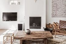 Home :: Interiors / Interior inspiration for a bright and airy home.