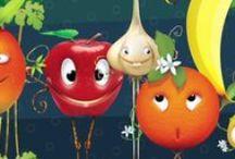 #Expo2015 | Foody and Friends / Drawn by Disney Italia, Foody is Expo2015 official mascot. Foody is honest, wise and respectful. He loves good food and he's always with his eleven friends | Disegnato da Disney Italia, Foody è la mascotte ufficiale di Expo2015. Foody è sincero, saggio, rispettoso. Ama la buona cucina ed è sempre in compagnia dei suoi undici amici