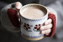 Life :: Chilly days / Hot drinks, cosy knits and warming meals.