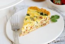 En cuisine ... Quiches - Pizzas - Tartes - Tourtes - Cakes salés ... / by Danièle